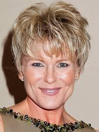 short hairstyles for women over 50 thick hair short hairstyles for women over 50 with thick hair an older woman