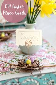 Diy Place Cards Place Cards For Easter