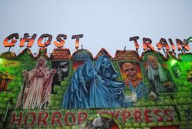 Halloween Ghost Train by A Short History Of Ghost Train Rides U2013 Article U2013 Horrorpedia