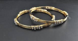 diamond studded how to make fancy shape diamond studded bangles allyours jewels