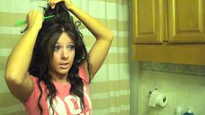 how to make 80 u0027s hair youtube