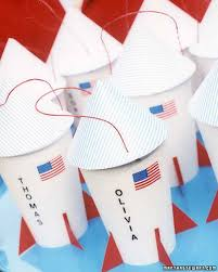 space themed writing paper kids party favors martha stewart