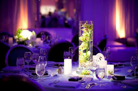 Cylinder Vases Wedding Centerpieces Summer Wedding At The Sls Hotel Beverly Hills California Inside