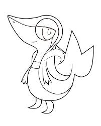 pokemon coloring pages of snivy best of incredible pokemon coloring pages with color exceptional
