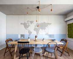 Apartment Dining Table Modern Apartment Design Focused On Flexibility And Modularity