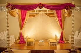 Indian Wedding Mandap Rental Indian Wedding Mandap Decor In Orlando Florida Fusion Wedding By