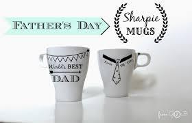 s day mugs from gardners 2 bergers s day sharpie mugs