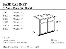 36 Sink Base Cabinet 24 Kitchen Sink Base Cabinet Kitchen Decoration