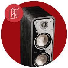 Polk Ceiling Speakers Uk by Polk Signature S55 Black Floorstanding Speakers Pair Polk