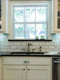 Marble Backsplash Kitchen Kitchen Room Tumbled Marble Subway Tile Kitchen Backsplash