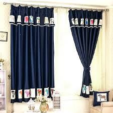 patterned blackout curtains u2013 teawing co