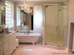 mirror ideas for bathroom remodelaholic how to remove and reuse a large builder grade mirror