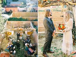 Backyard Fall Wedding Ideas Intimate Backyard Harvest Wedding Alissa Jeb