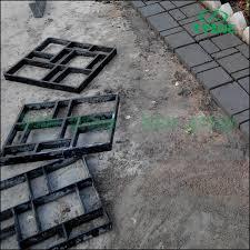 Brick Patio Diy Paving Brick Patio Walk Maker Diy Plastic Pavement Mold Garden