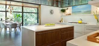 mid century modern walnut kitchen cabinets a maryland mid century modern kitchen remodel