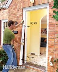 Frame Exterior Door How To Replace An Exterior Door Family Handyman