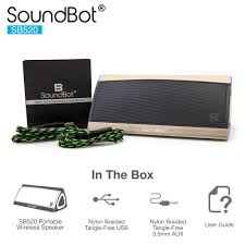 soundbot sb520 premium 3d bluetooth 4 0 speaker soundbot