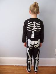 Halloween Skeleton Cut Out by Freezer Paper Skeleton Costume 7 Steps With Pictures