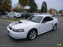mustang 2003 gt 2003 oxford white ford mustang gt coupe 40134284 gtcarlot com