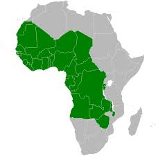 Blank Maps Of Africa by Blank Map Of West And Central Africa