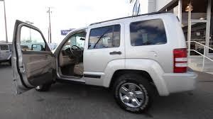 jeep silver 2008 jeep liberty sport silver 8w257870 mt vernon skagit