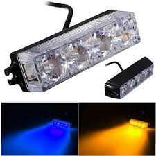 Emergency Light Bars For Trucks Brand New Universal 4 Led Car Truck Emergency Beacon Light Bar
