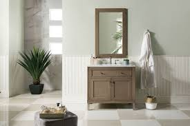 Bathroom Vanities Chicago 36 Chicago Whitewashed Walnut Single Sink Bathroom Vanity