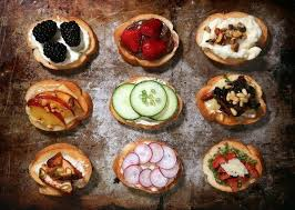 canapé toast idées recettes aperitif vegetarien buffet et apero vegetarien