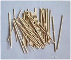 wholesale lollipop sticks 180x5mm wood color lollipop popsicle sticks for kids