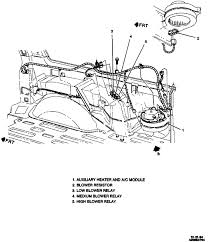 i have a 1995 suburban 5 7l 4x4 and the rear heater blower motor