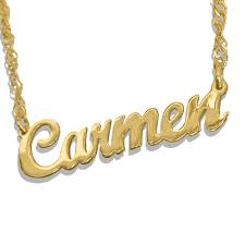 gold personalized name necklaces personalized name necklace usa name necklace custom name