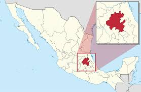 Mexico Map With States by Hidalgo State Wikipedia
