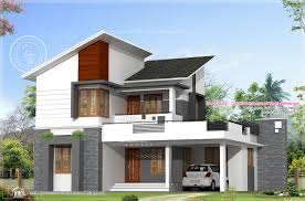 vibrant 9 house plan and elevation in kerala floor modern hd