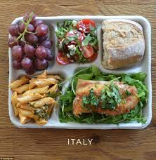 what lunches look like around the world daily mail online