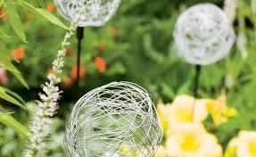 allium garden stakes garden inspiration