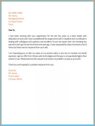 Sle Letter Of Intent For Salary Loan salary review letter template salary increment letter format