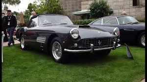 Ferrari California 1960 - 1960 ferrari 250 gt cabriolet pf series ii u0026 engine sound on my