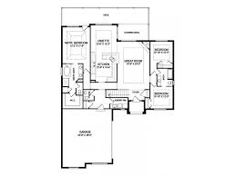 one story open house plans traditional house plan one story open floor building plans