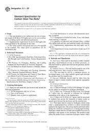 astm a1 pdf heat treating track rail transport