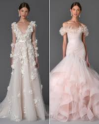 marchesa wedding gowns marchesa 2017 wedding dresses bridal fashion week