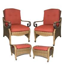 Patio Chair Recliner Patio Chairs With Ottoman Bay Patio Chairs And Ottomans Reclining