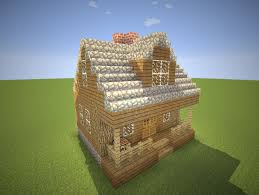 cozy cabin with fireplace minecraft maps