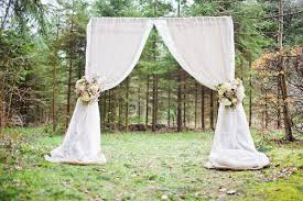wedding arch lace unique alternative ideas for decorating the altar for a wedding