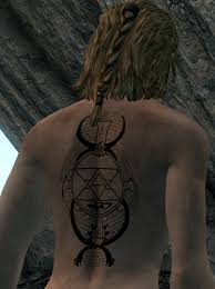 scar and riza tattoos from fullmetal alchemist at skyrim nexus
