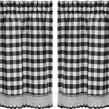 Red And White Buffalo Check Curtains Buffalo Check Curtains Wayfair
