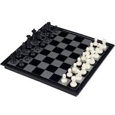ubon magnetic 3 in 1 plastic chess set 25cm 38810