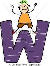 stock illustrations of letter d boy happy little ethnic boy
