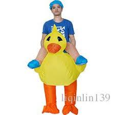 duck costume disfraz adulto yellow duck costume ride on animal