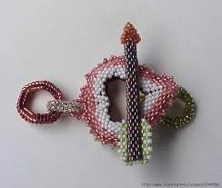 seed bead necklace clasp images 174 best bead clasp or toggles images diy jewelry jpg