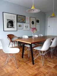 Eames Dining Chair Dining Table Eames Dining Chair With Glass Table Wooden Tables
